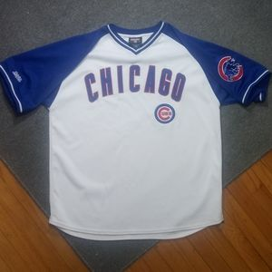 ⚾VTG Stitches Chicago Cubs pullover jersey⚾